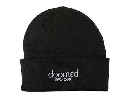 Doomed New Port Beanie Black