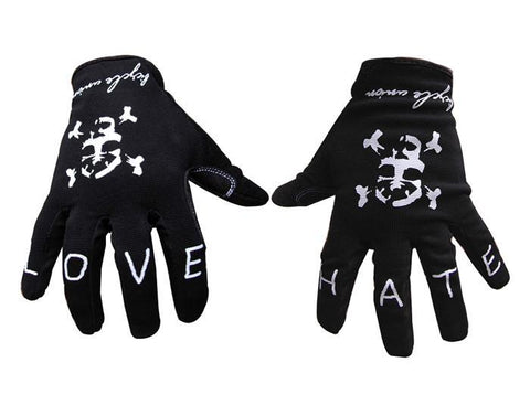 Bicycle Union Love Hate Cuff Less Gloves at 21.99. Quality Gloves from Waller BMX.