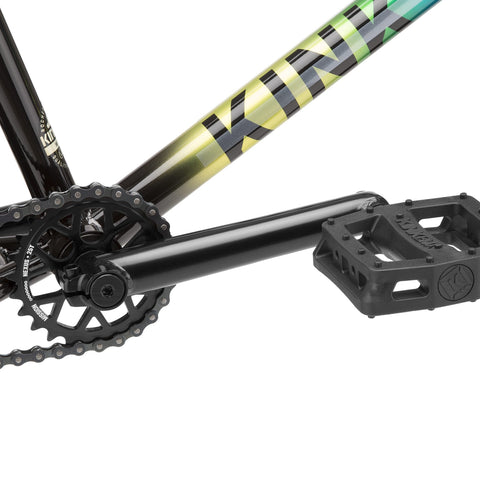 Kink Whip XL BMX Bike 2021 - Gloss Black Fade