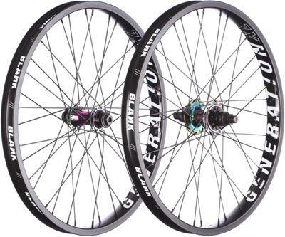 Blank Generation XL Wheelset - Rainbow at . Quality Wheelset from Waller BMX.