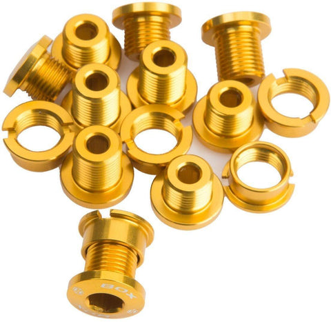 BOX One Alloy Chainring Bolt Kit 15pcs at 24.99. Quality Crank Spares from Waller BMX.