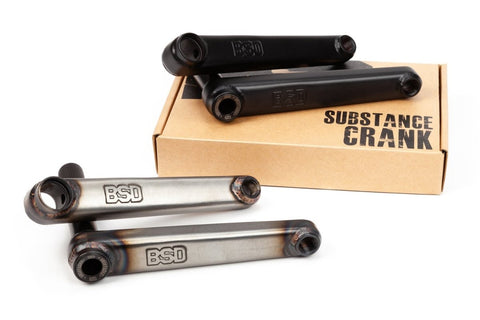 BSD Substance Cranks at 129.99. Quality Cranks from Waller BMX.