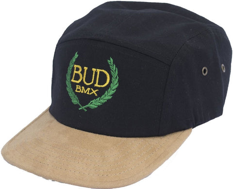 BUD BMX 5 Panel Cap at 19.99. Quality Hats and Beanies from Waller BMX.