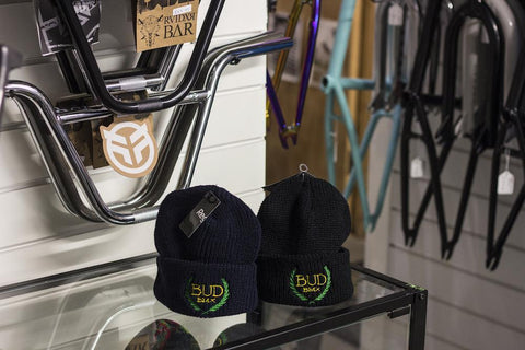 BUD BMX Niche Beanie at 13.99. Quality Hats and Beanies from Waller BMX.