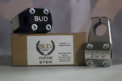BUD BMX Niche Front Load Stem at . Quality Stems from Waller BMX.