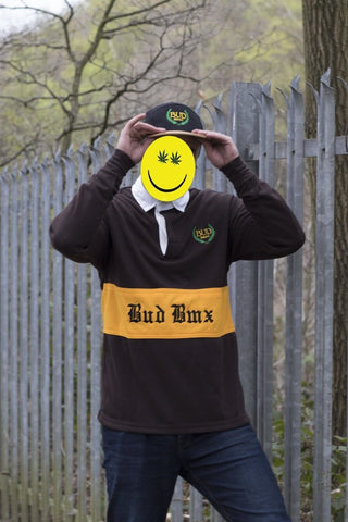 BUD BMX Polo Jumper at . Quality Hoodies and Sweatshirts from Waller BMX.