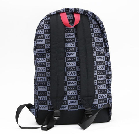 Cult Designer Backpack - Black at . Quality Backpacks from Waller BMX.