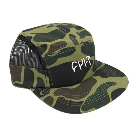 Cult Logo Camper Hat at 23.99. Quality Hats and Beanies from Waller BMX.