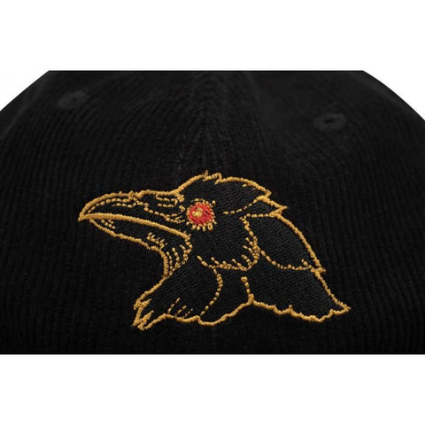 Shadow Finest Corduroy Cap - Black