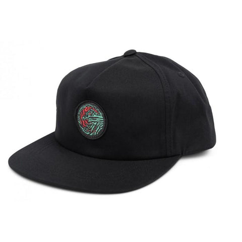 Shadow Chimera Snapback Cap - Black