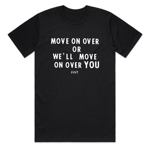 Cult Move On Over T-Shirt - Black
