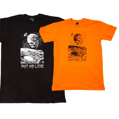 Fast And Loose Rotted Earth T-Shirt - Orange
