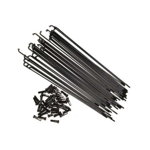 Federal Stance Butted Spokes (40 Pack) - Black