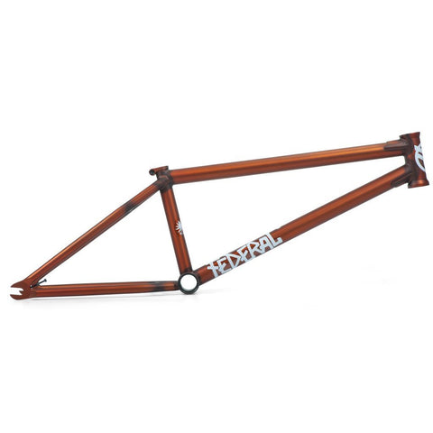 Federal Bruno 2 Frame - Matt Clear Burnt Orange at 294.99. Quality Frames from Waller BMX.