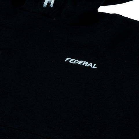 Federal Freehand Hooded Sweat - Black at 53.99. Quality Hoodies and Sweatshirts from Waller BMX.