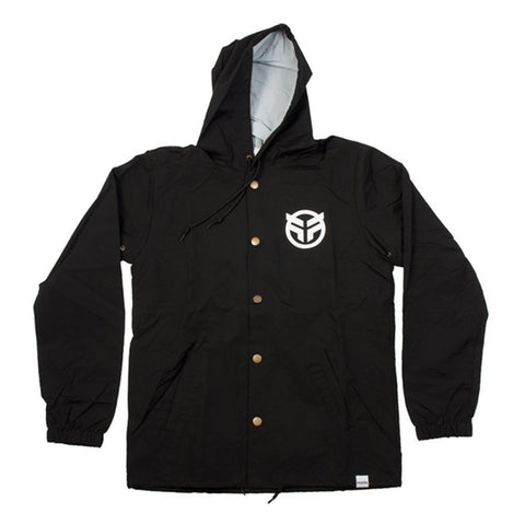 Federal Logo Jacket - Black at 52.49. Quality Jackets from Waller BMX.