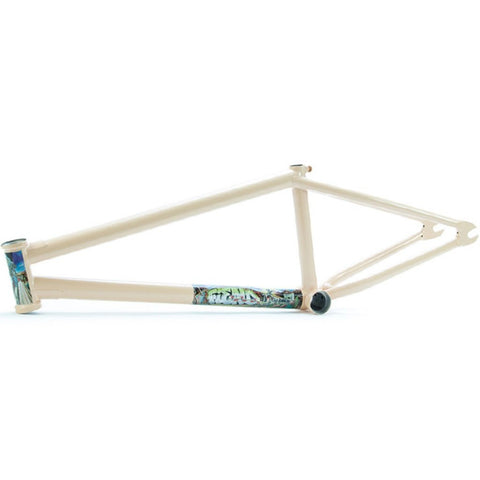 Fiend Morrow V3 Brakeless Frame - Matt Tan at 289.99. Quality Frames from Waller BMX.