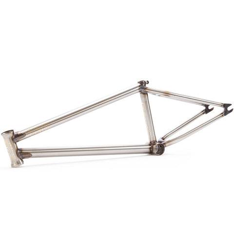 Fiend Palmere V3 Brakeless Frame - Matt Clear at 294.99. Quality Frames from Waller BMX.