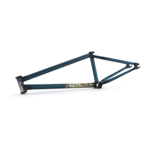 Fiend Morrow V3 Brakeless Frame - Dirty Ocean Haze