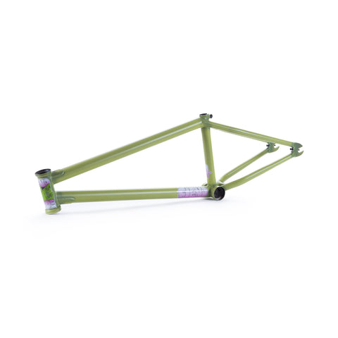 Fiend Morrow V4 Brakeless Frame - Green Crack
