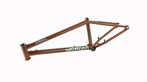 Fit Hartbreaker BMX Frame at 499.99. Quality Frames from Waller BMX.