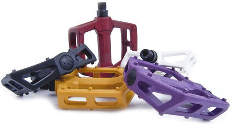 Fly Bikes Ruben Graphite Plastic Pedals at 10.79. Quality Pedals from Waller BMX.
