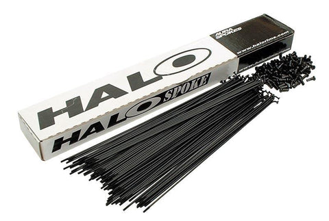 Halo 14G Plain Gauge Spokes - Waller BMX