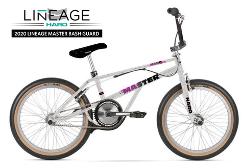 "Haro Lineage Master Bash Guard 20"" BMX Bike 2020 at 1249.99. Quality 20"" BMX Bike from Waller BMX."