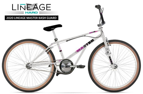 "Haro Lineage Master Bash Guard 26"" BMX Bike 2020 at 1249.99. Quality 26"" BMX Bike from Waller BMX."