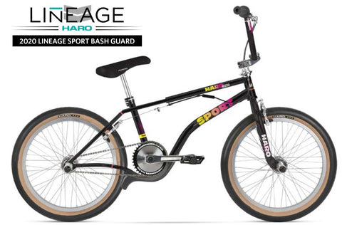 "Haro Lineage Sport Bash Guard 20"" BMX Bike 2020 at 1249.99. Quality 20"" BMX Bike from Waller BMX."