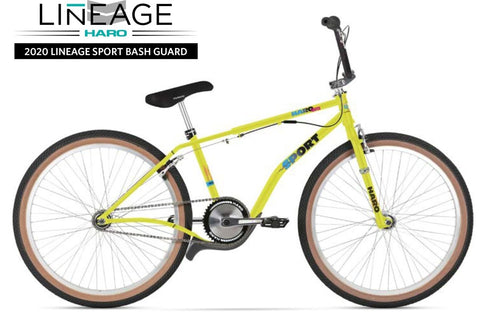 "Haro Lineage Sport Bash Guard 26"" BMX Bike 2020 at . Quality 26"" BMX Bike from Waller BMX."