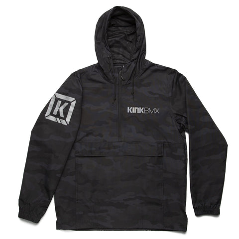 Kink Special Ops Anorak Jacket - Black Camo