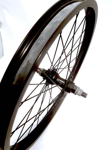 Kink Mission Rear Cassette Wheel LHD at . Quality Rear Wheels from Waller BMX.