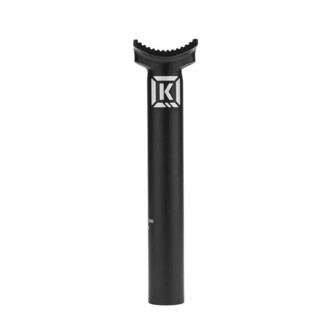 Kink Stealth II 180mm Seat Post - Black 25.4mm at . Quality Seat Posts from Waller BMX.