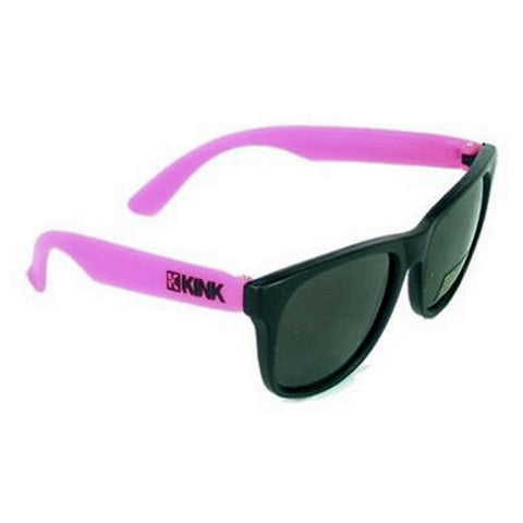 Kink Sunglasses - Black With Pink Arms at . Quality Sunglasses from Waller BMX.