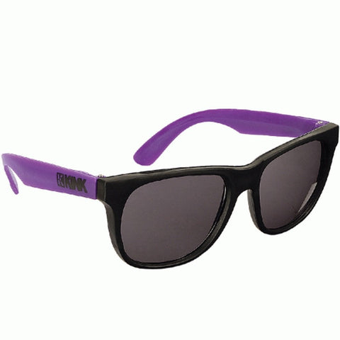 Kink Sunglasses - Black With Purple Arms at . Quality Sunglasses from Waller BMX.