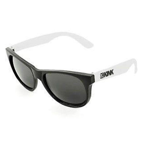 Kink Sunglasses - Black With White Arms at . Quality Sunglasses from Waller BMX.