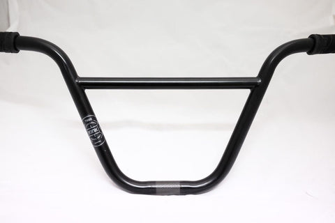 "Kink Rex T900 BMX 9"" Bars With Grips - Black"