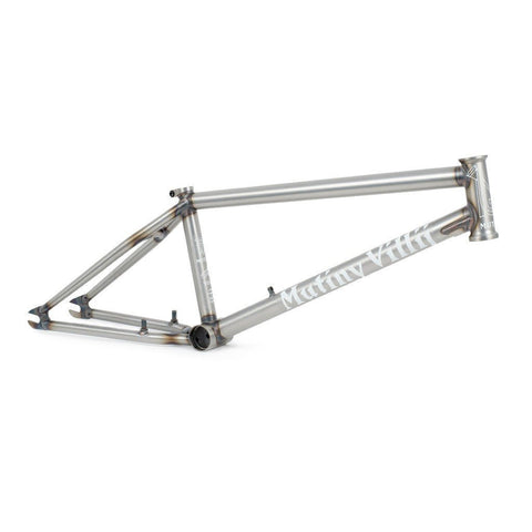 Mutiny Villij Frame - Matt Raw at 294.99. Quality Frames from Waller BMX.