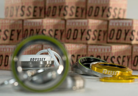 Odyssey Integrated Headset at 26.99. Quality Headsets from Waller BMX.