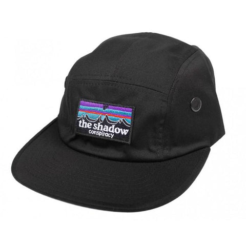 Shadow Out There Camper Cap - Black | BMX