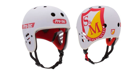 Pro-Tec X S&M Bikes Full Cut Certified Helmet at 44.99. Quality Helmets from Waller BMX.
