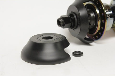 "Proper ""Select"" Universal Drive Side Hubguard at . Quality Hub Guard from Waller BMX."