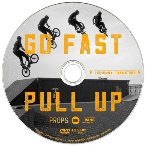 Pull Up Go Fast - The Jimmy Levan Story - DVD at . Quality DVD from Waller BMX.
