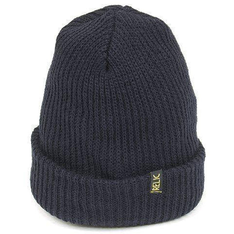 Relic Beanie Navy Blue at . Quality Hats and Beanies from Waller BMX.