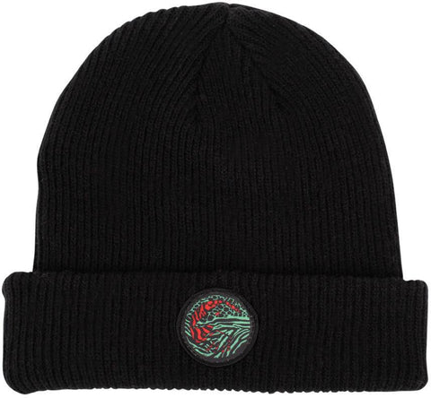 Shadow Chimera Wool Beanie - Black