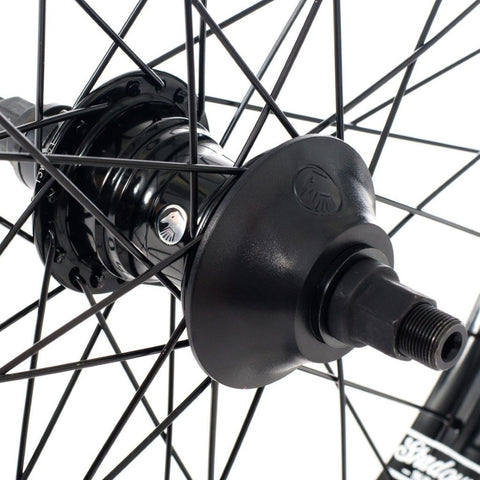 Shadow RHD Optimized Freecoaster Hub - Black 9 Tooth at . Quality Hubs from Waller BMX.