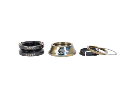 Shadow Stacked Integrated Headset - Waller BMX