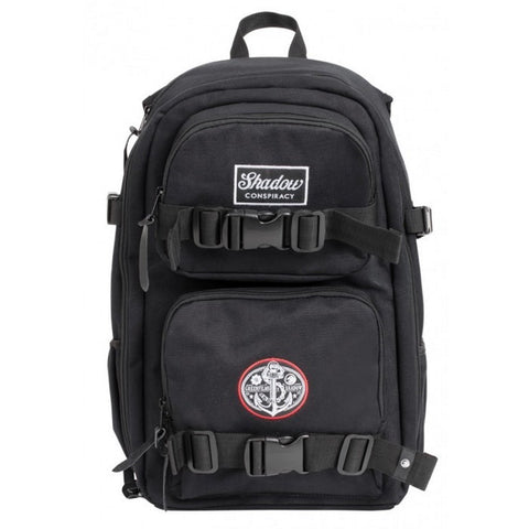 Shadow X Greenfilms Mark III DSLR Backpack - Black With Crow Camo Interior at . Quality Backpacks from Waller BMX.