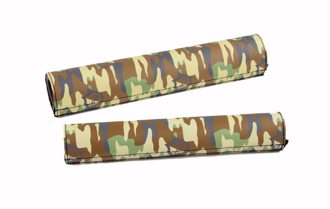 S&M Camo Padset at . Quality Frame and Bar Pads from Waller BMX.